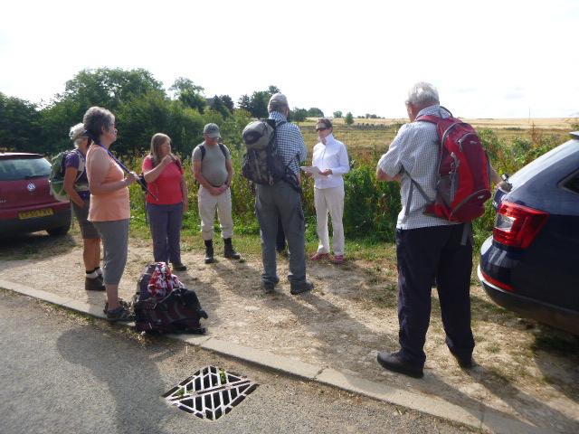 Tresham for Franceska's walk