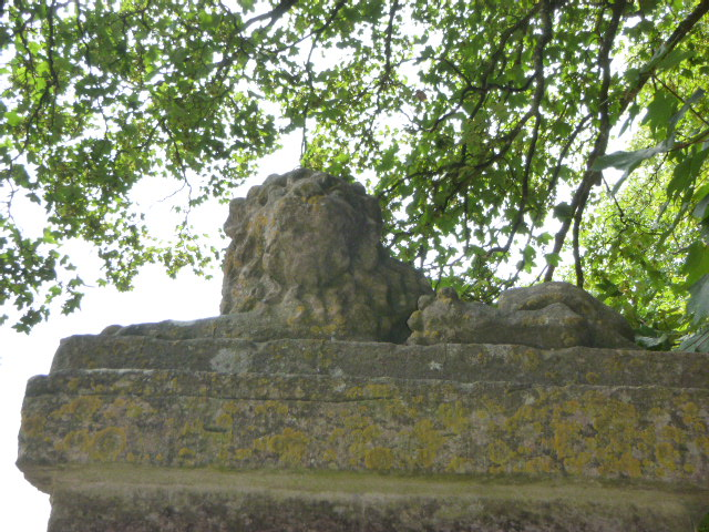 One of the Lions at Lion Lodge