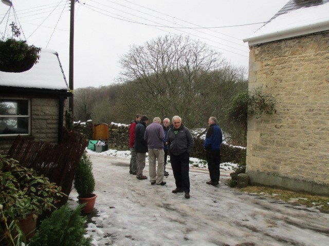 In December last year Dave attempted this walk from the Black Horse, which was abandoned