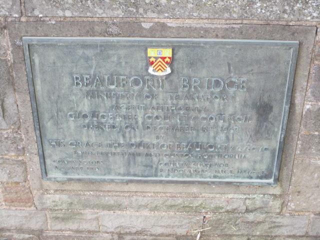 We get to Beaufort Bridge