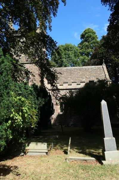 The church at Horton with its references to William Tyndal