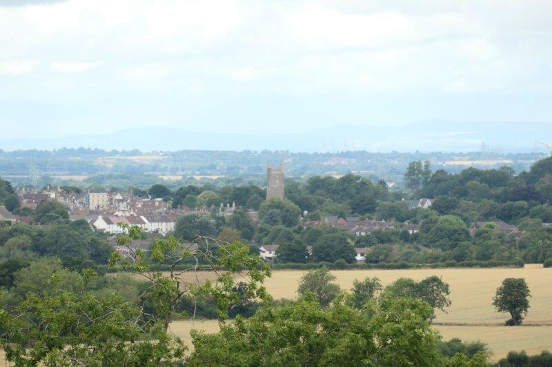 And take in the views over to Chipping Sodbury