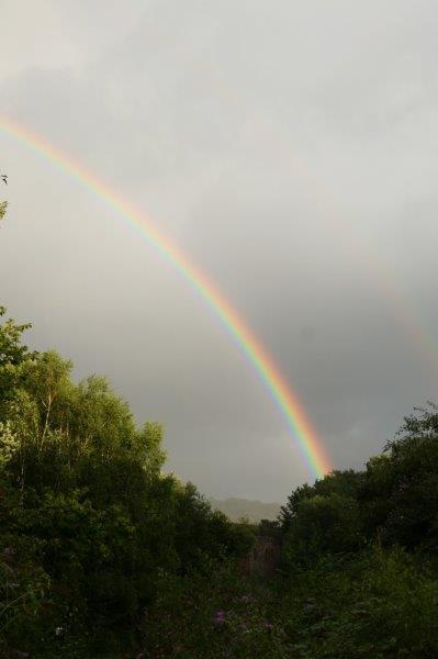 Producing some good rainbows