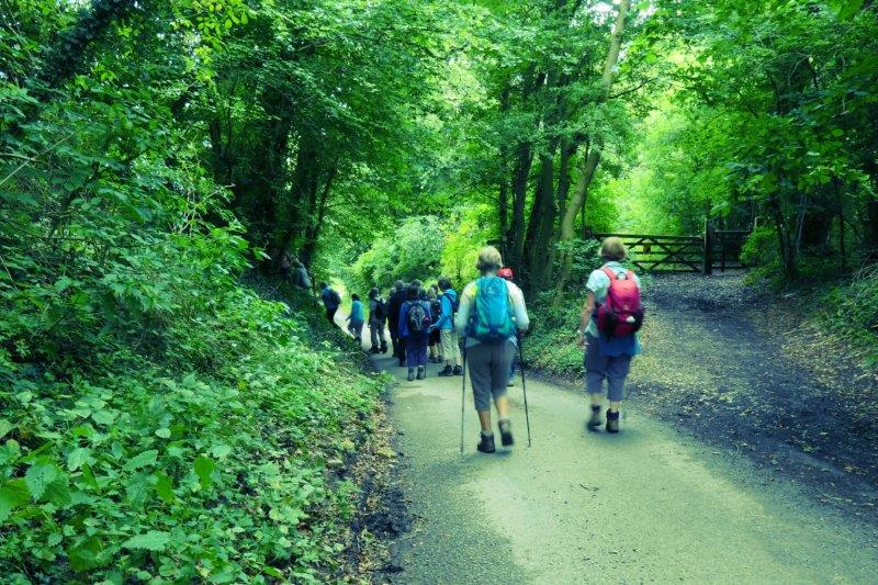 Following the Cotswold Way