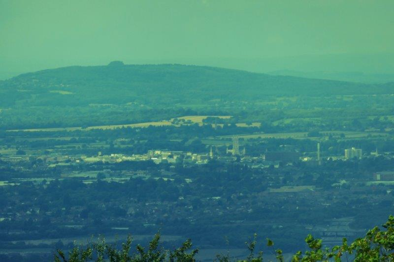 And across Gloucester to May Hill