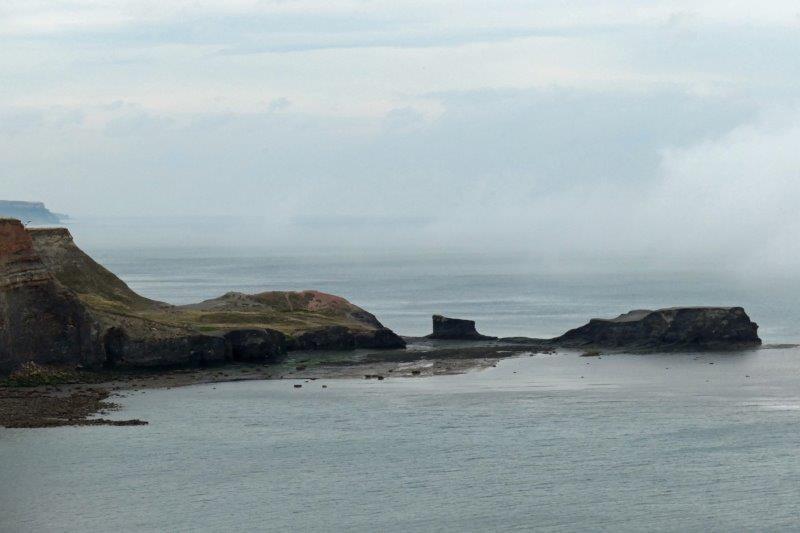 A rocky headland