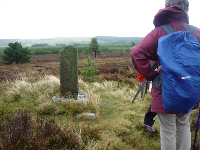 Is this a parish boundary, a marker of something, or a gatepost?