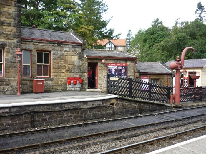 And arrive at Goathland