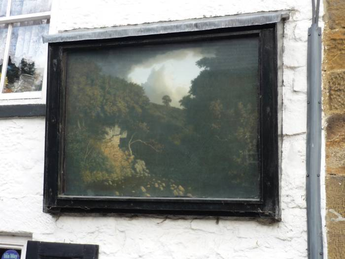 This painting was done by the Winsor of Winsor and Newton art materials, Belinda tells us