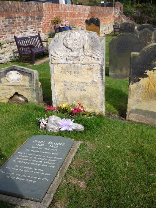 Where Anne Bronte is buried