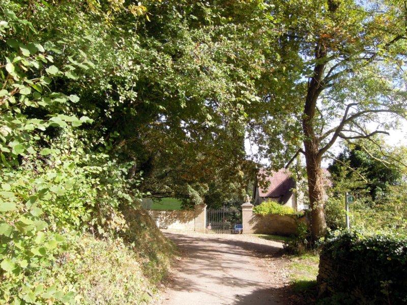 We reach the gates of Ozleworth