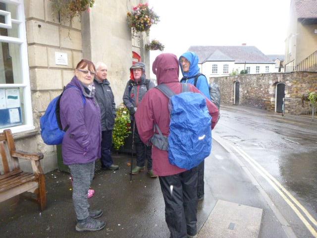 For Ann's Dursley Walking Festival walk