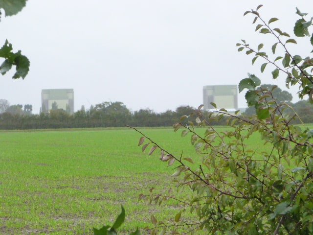 From this point you can see Oldbury and Berkeley Nuclear Power stations