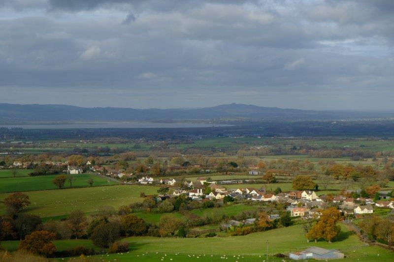 View from the Peak across the Severn to May Hill