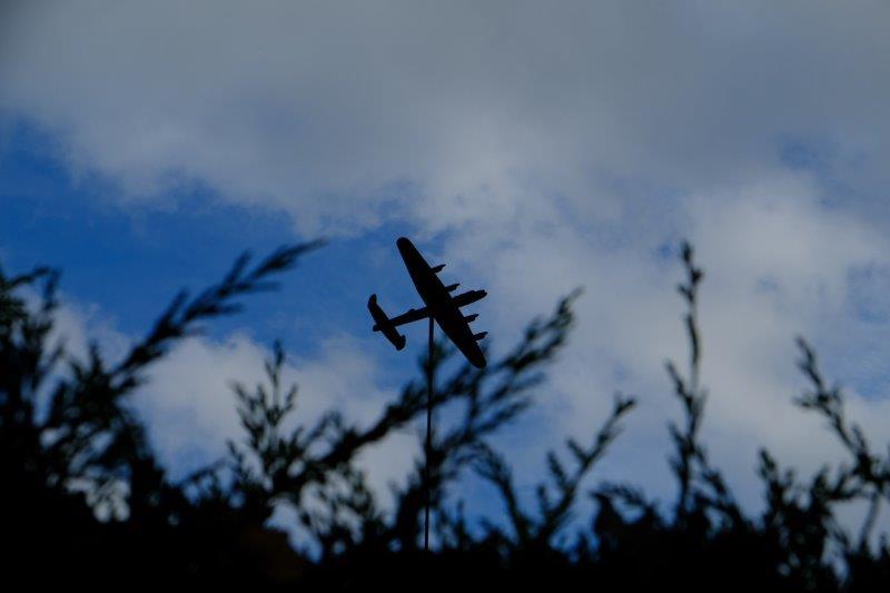Lancaster Bomber overhead