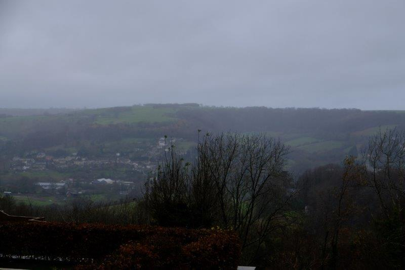 Looking over to Woodchester