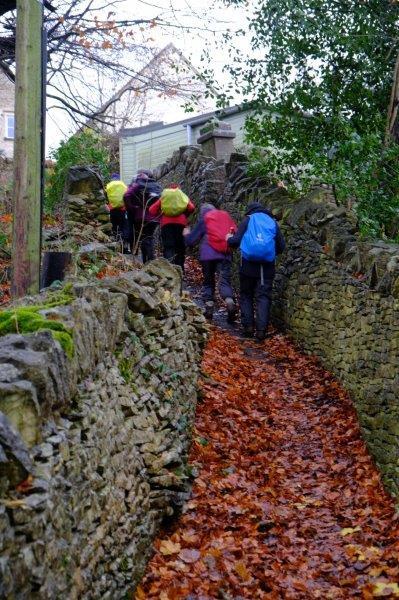 As we climb a steep path
