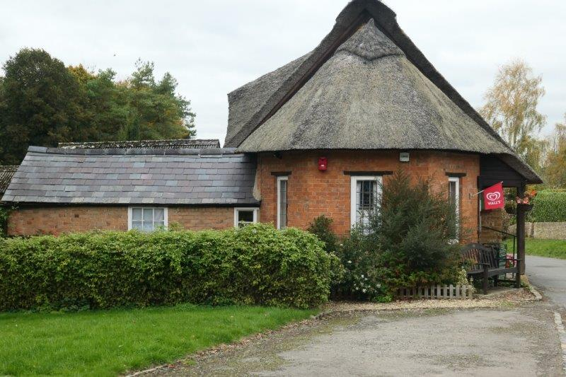 A thatched post office