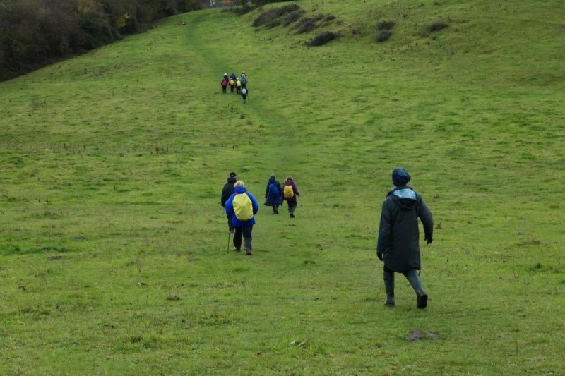 Towards the village