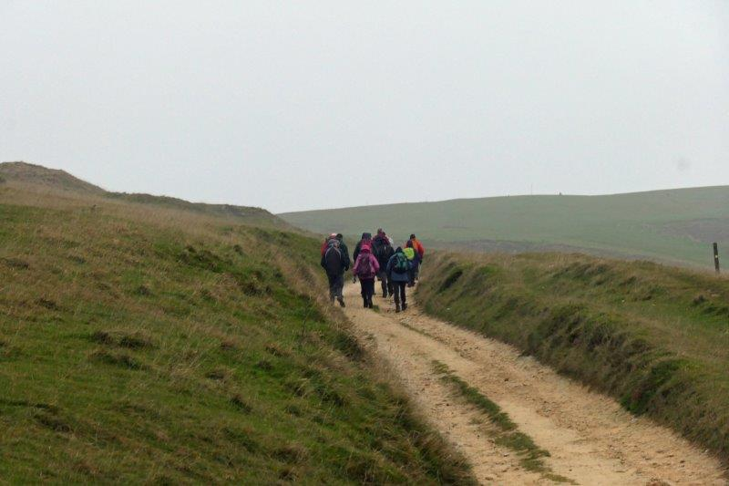 Before we head off over Cleeve Hill