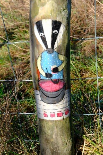 Badger posts still going strong although some are slightly faded