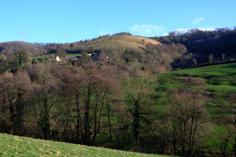 Swifts Hill now behind us