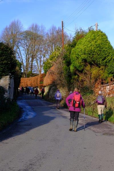 Not long before we are retracing our steps uphill to the cars