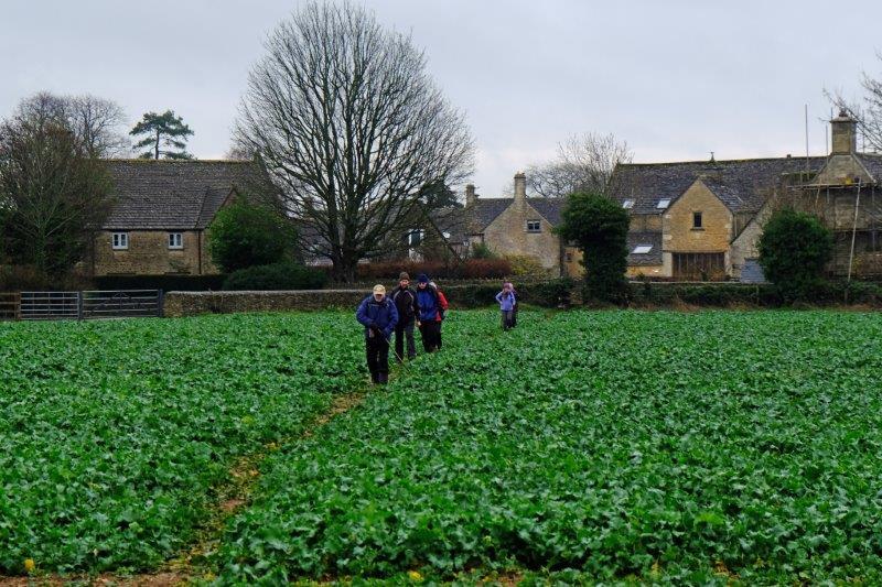 Leaving the village behind