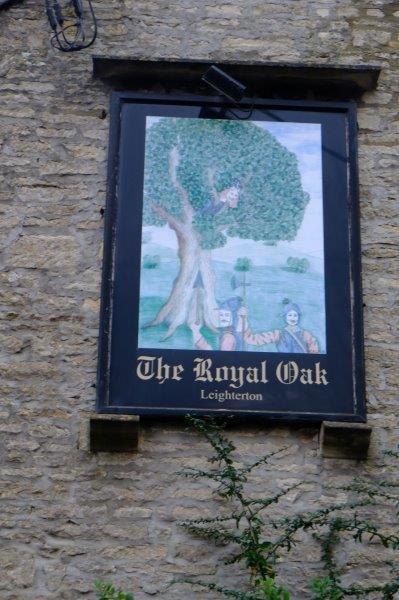 Arriving at the Royal Oak