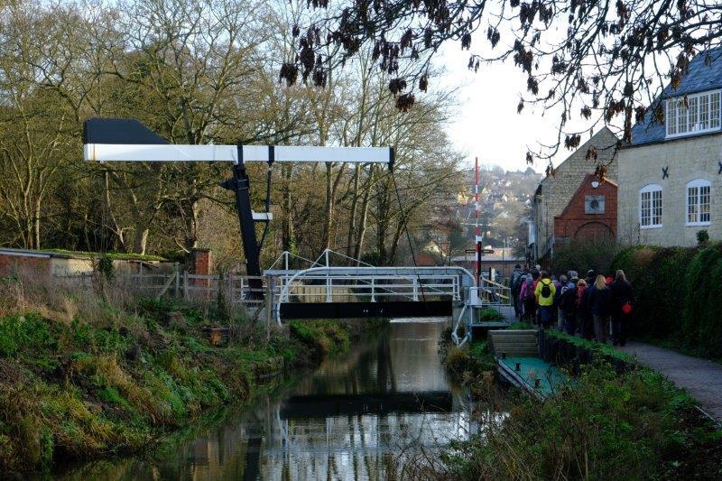 Then a beam bridge