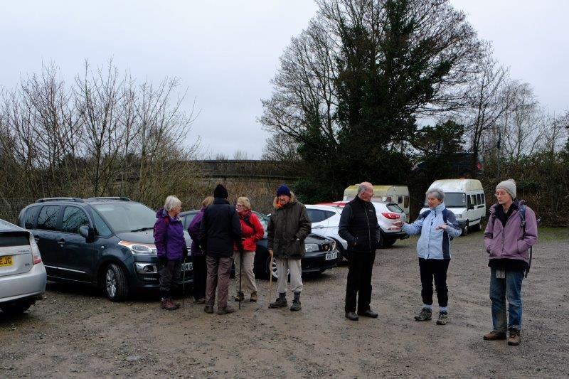 Car Park of the George Inn at Bathampton