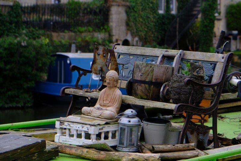 Every boat should have a Buddha