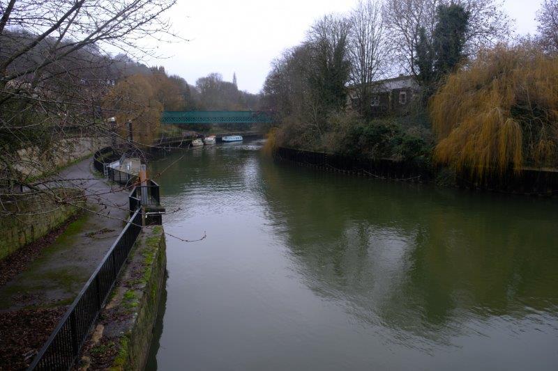 Now along the river Avon