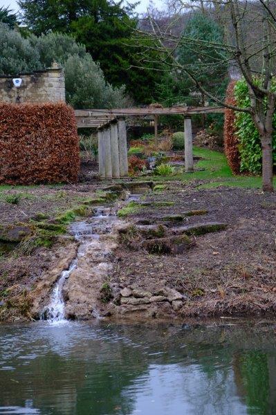 Another canalside garden