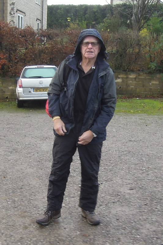 Must be wet - Brian is fully dressed!