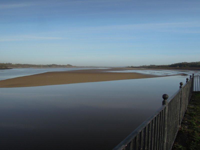 The tide is sneaking in