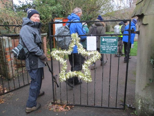 Where the church has a star on the gate