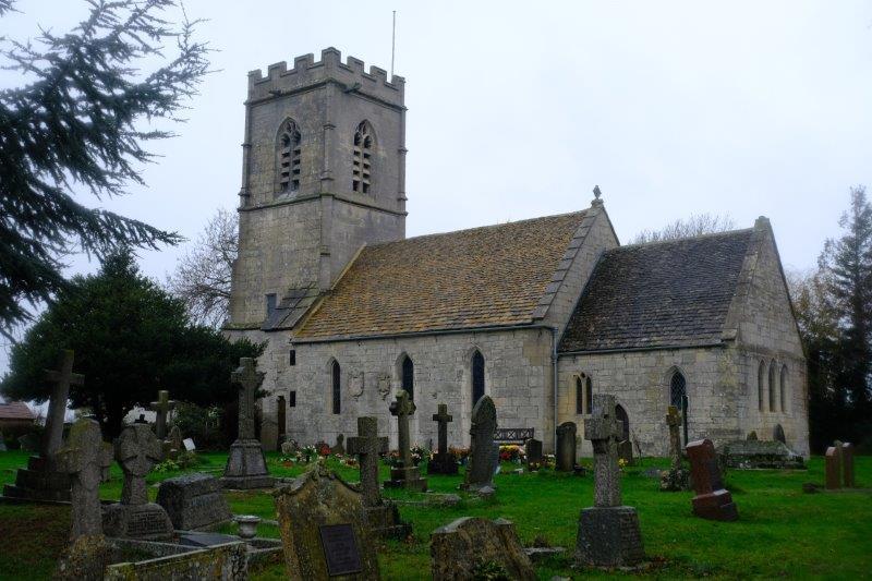 To Whaddon Church