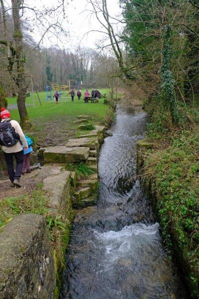 And the playground by the River Frome