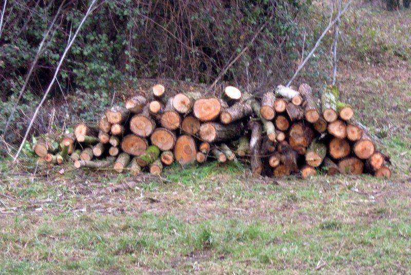 Log burner material