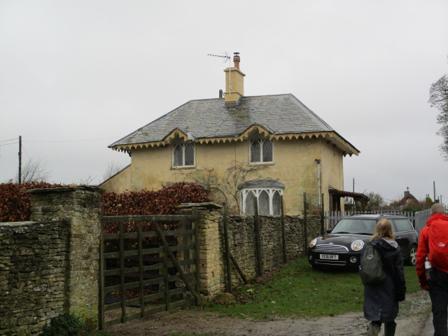 One of the lodges of the Estate