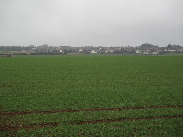 Hawkesbury Upton in the distance