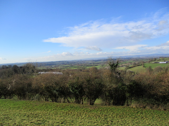 Then views across to the River Severn and beyond