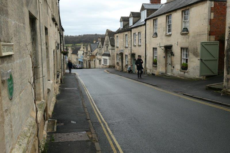 As we head back through the town