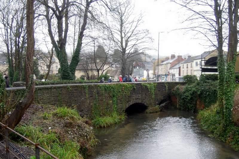 Across the Nailsworth Stream