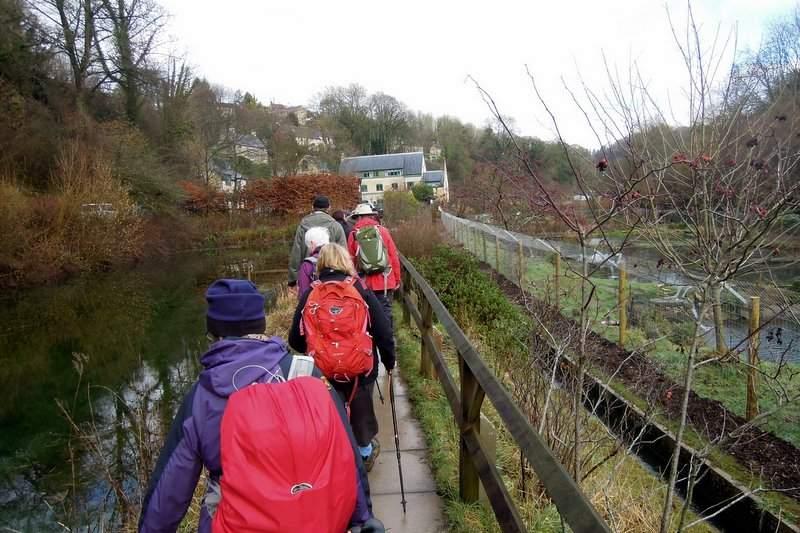 We head towards Ruskin Mill