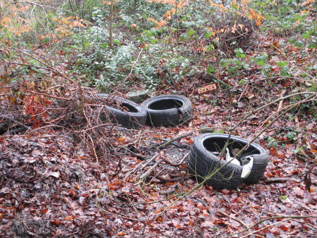 Anyone need a tyre?