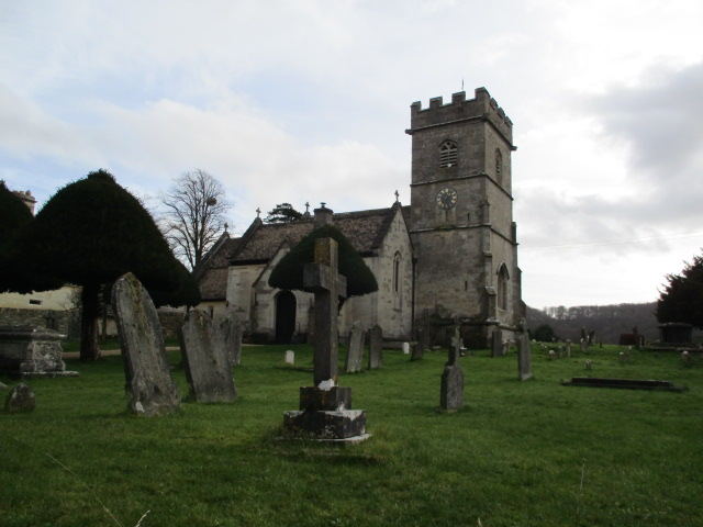 On past Cranham Church