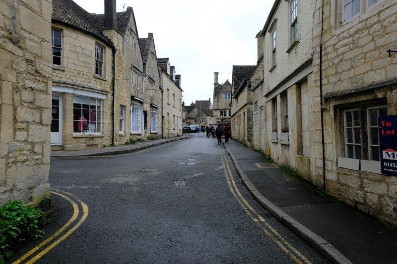 Through the narrow streets of Painswick