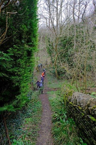 Downhill out of Cranham